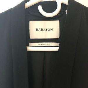 Aritzia Babaton black long vest XS like new